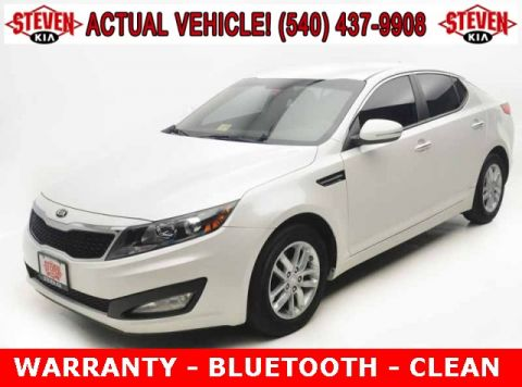 Pre-Owned 2013 Kia Optima LX FWD 4D Sedan
