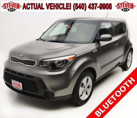 New 2016 Kia Soul Base FWD 5D Wagon